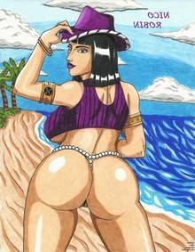 Toon sex pic ##000130940067 dat ass fafnir the dragon nico robin one piece thong