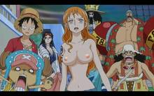 Toon sex pic ##000130916054 brooke chopper franky monkey d. luffy nami nico robin one piece usopp