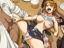 Toon sex pic ##000130854231 anal censored cum cum everywhere cum inside doflamingo gangbang kurohige marshall d teach nami one piece rape