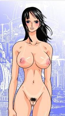 Toon sex pic ##000130669411 black hair blush merry program nico robin nude nude filter one piece photoshop pubic hair uncensored