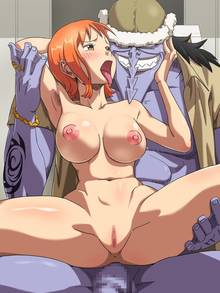 Toon sex pic ##000130662787 anus arlong armpits blush breasts censored habatakuhituji highres large breasts monster nami nipples one piece open mouth penis pussy saliva