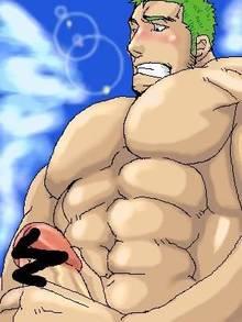 Toon sex pic ##000130625495 male one piece roronoa zoro yaoi
