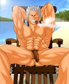 Toon sex pic ##000130522444 one piece smoker tagme yaoi