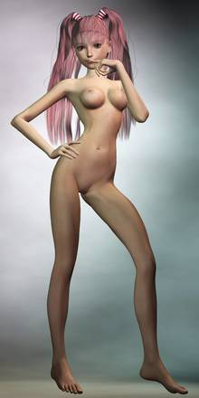 Toon sex pic ##000130515431 3d barefoot feet high resolution legs long image long legs macross nude one piece perona realistic red hair skinny tall image twintails x sanders x
