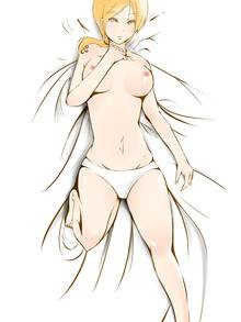 Toon sex pic ##000130532045 breasts carpet nami nipples on back one piece orange hair panties spread legs tattoo topless white panties