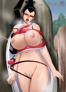 Toon sex pic ##000130498037 black hair blush bra lactation breasts censored closed eyess coat eyess closed kikyou kikyou (one piece) lactation lipstick make-up mokusa nipples nude one piece outdoor panties panty pull pussy pussy juice restrained snake standing tear wedgie