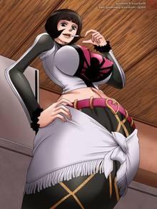 Toon sex pic ##000130445113 armpit breasts cigarette erect nipples mokusa nipples one piece shakki shakky shakuyaku standing