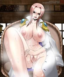Toon sex pic ##000130444944 anus ass blush breasts brown eyess bukkake coat cum on ass cum on belly cum on breasts cum on chest cum on hair cum on thighs facial hina hina (one piece) leg lift licking lips lipstick mokusa naked nipples nude one piece pink hair pussy steam tongue