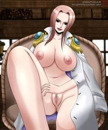 Toon sex pic ##000130444941 anus ass breasts brown eyess coat hina hina (one piece) leg lift lipstick mokusa naked nipples nude one piece pink hair pussy