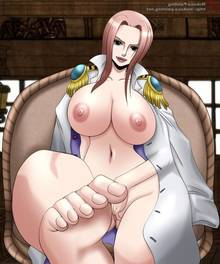 Toon sex pic ##000130444939 ass bare feet bare feet barefeet breasts brown eyess coat covering crotch hand on crotch hina hina (one piece) leg lift lipstick masturbation mokusa naked nipples nude one piece pink hair pussy