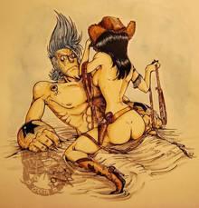 Toon sex pic ##000130418689 atras kainblut franky nico robin one piece tagme