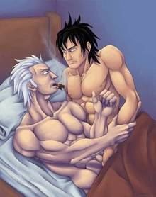 Toon sex pic ##000130417046 one piece portgas d. ace smoker yaoi