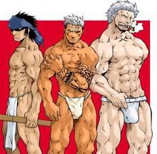 Toon sex pic ##000130410910 fullmetal alchemist kai suwabara one piece scar smoker yakitate!! japan yaoi