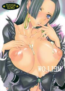 Toon sex pic ##000130368074 blush boa hancock breasts collarbone earrings finger licking highres jewelry licking midriff nipples one piece sengusa suzume snake solo