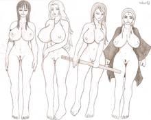 Toon sex pic ##0001301385468 bleach breasts chambs crossover erza scarlet fairy tail huge breasts matsumoto rangiku naruto nico robin one piece tsunade