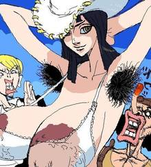 Toon sex pic ##000130477648 armpit hair armpits lol long breasts nico robin one piece robin sanji usopp what wtf