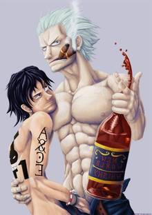 Toon sex pic ##000130448635 one piece portgas d. ace smoker yaoi